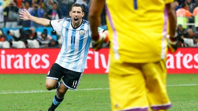 Argentiina sammus MM-finaali