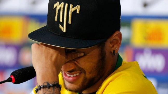Pisarais Neymar pressikonverentsil