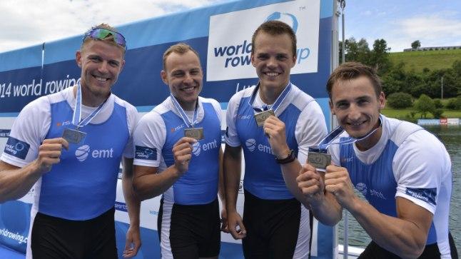 HÕBE: Paarisaeruline neljapaat sai medalimaitse suhu!