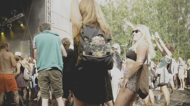 AlunaGeorge'i kontsert Positivus Festivalil.
