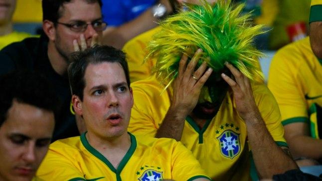 Saksamaa purustas MMi poolfinaalis võõrustaja Brasiilia.