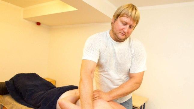 UUS AMET: Kui judomatil kasutab Martin  Padar oma tugevaid käsi vastaste murdmiseks, siis massöörina teiste inimeste aitamiseks.