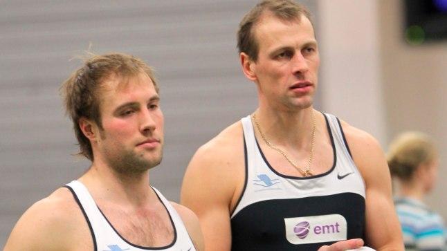 Andrei Jämsä (vasakul) ja Tõnu Endrekson.