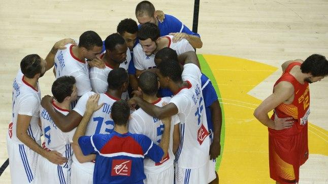 Prantsusmaa poolfinaali, Hispaania koju kotile