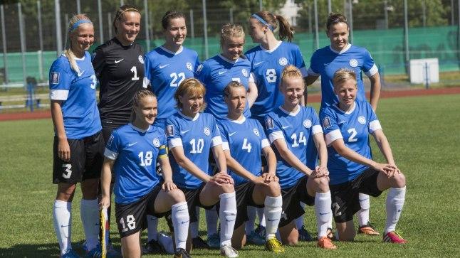f8cc1372e7c EESTI EMALÕVID: Just sellise hellitusnimega kutsub Eesti naiste  jalgpallikoondise peatreener Keith Boanas oma hoolealuseid.