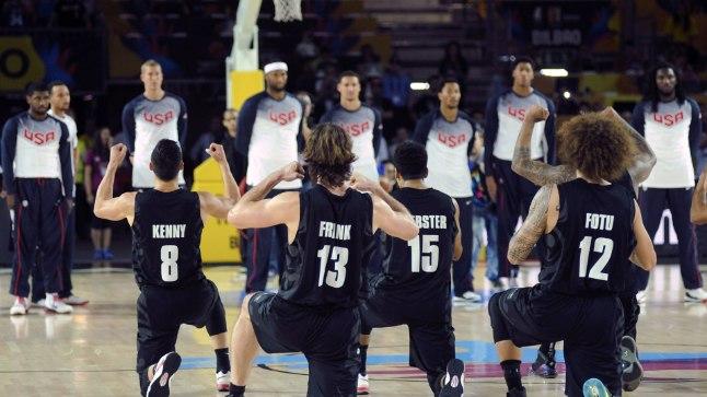 Uus-Meremaa mängijad hirmutasid ameeriklased oma Hakaga korralikult ära