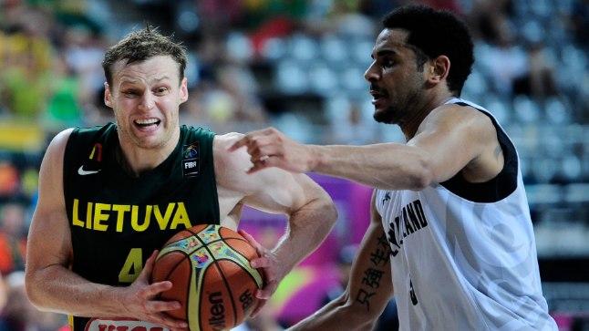 Leedu korvpallikoondisel oli eile Uus-Meremaaga kõvasti madistamist, aga lõpuks jäi Euroopa võim ikkagi peale. MMi kaheksast veerandfinalistist esindavad kuus Euroopat.