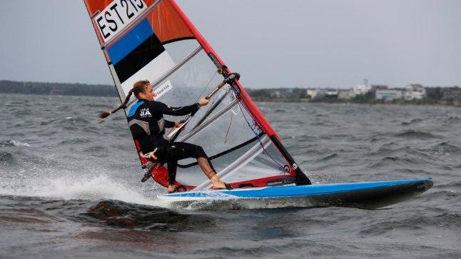 Purjelaudur Ingrid Puusta lõpetas maailmakarika finaaletapi üheksanda kohaga