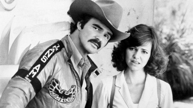 """1870ndate tähed Burt Reynolds ja Sally Field filmis """"Smokey ja bandiit"""""""