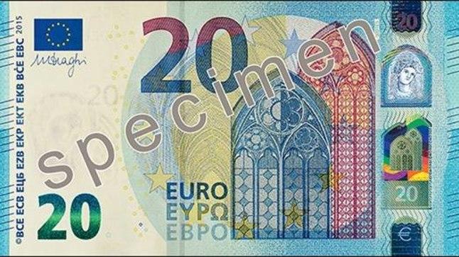 Uus 20-eurone.