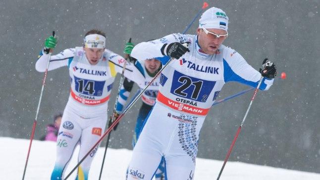 Kas kodusel Otepää MK-etapil veerandfinaalist välja jäänud Peeter Kümmel  suudab Rootsis lootused täita?