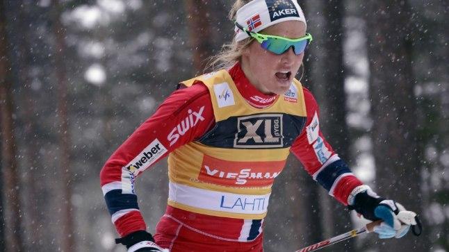 Therese Johaug võitis teise individuaalse maailmameistritiitli.
