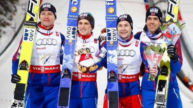 Võidukas Norra nelik