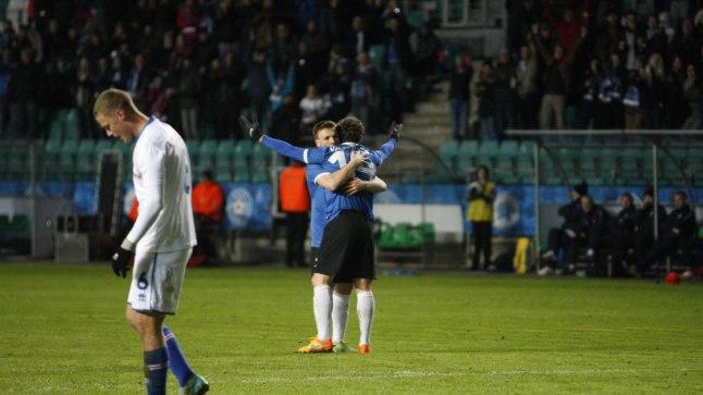 Eesti viigistas 1:1 Raio Piiroja lahkumismängus Islandiga