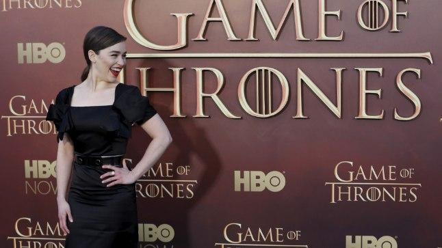 Näitlejanna Emilia Clarke