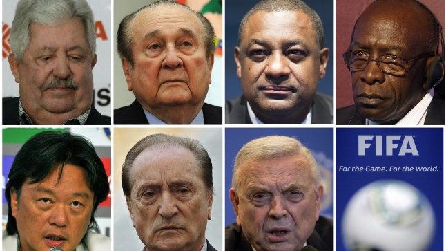 Nimeliselt toodi välja seitse vahistatud FIFA ametnikku