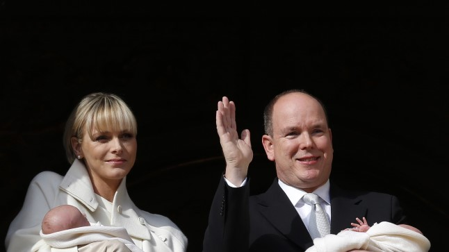 Monaco vürstipere ristib kaksikuid