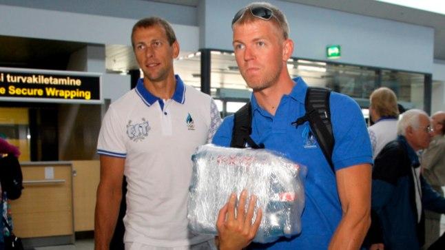 Tõnu Endrekson (vasakul) ja Kaspar Taimsoo eraldati neljapaadist. Kas nad suudavad moodustada maailmas tegusid tegeva kahese?