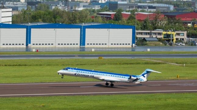 Estonian Air: lennuk muutis suunda, kuid kõik oli ohutu