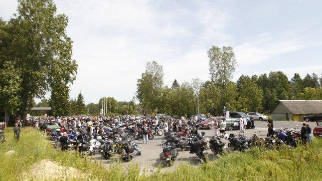 Motomeeste sõit Vao külla möödus rahulikult