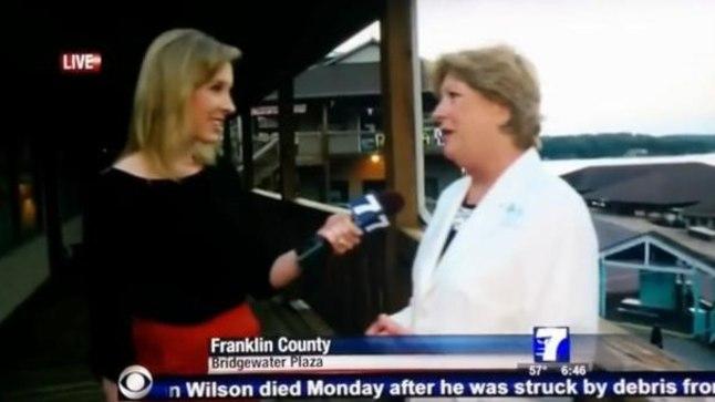 Telereporterid tapeti otsesaates