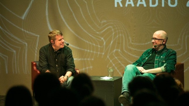 Andrus Kivirähk ja Mart Juur.