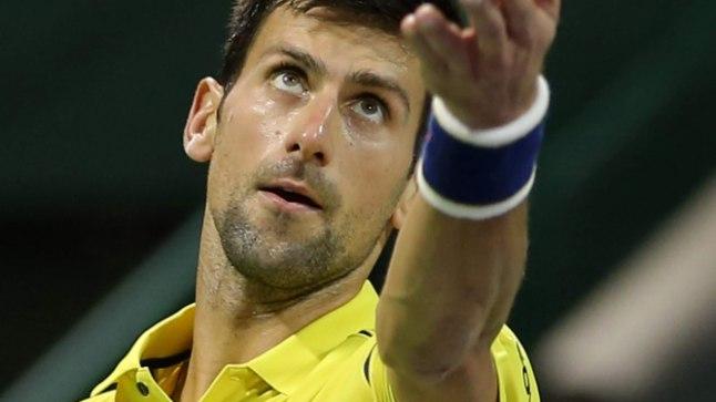 Novak Djokovici vorm hirmutab konkurente.
