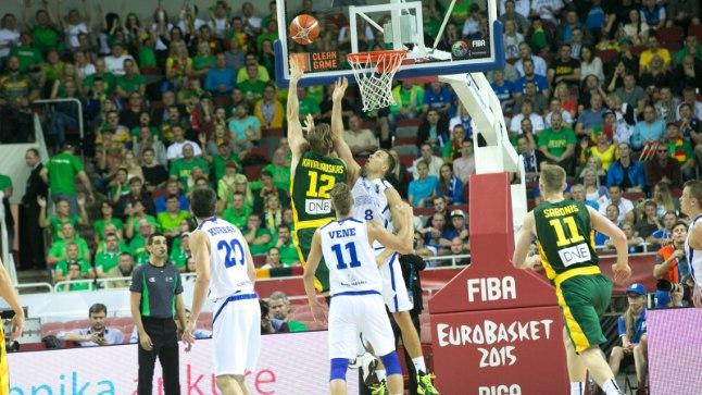 Eesti korvpallikoondis sai tänu EM-finaalturniirile pääsemisele pista pikkade aastate järel rinda Baltimaade suurjõu Leeduga ning võidustki ei jäänud palju puudu!