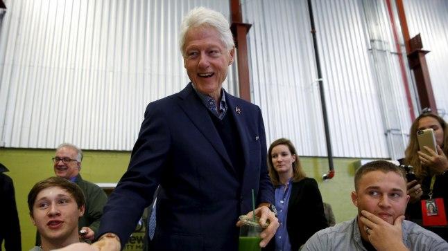 Mis on lahti Bill Clintoniga?