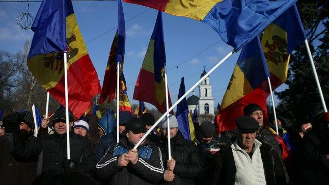 Moldova pealinna tänav.