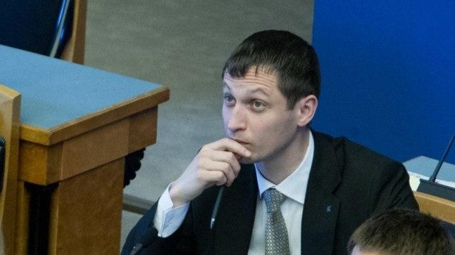 Dmitri Dmitrijev riigikogus.