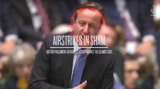 SIHIKUL: Sunniitide äärmusrühmitus  Islamiriik kinnitab värskes  propagandavideos, et on sihikule võtnud Suurbritannia eesotsas peaminister David Cameroniga.