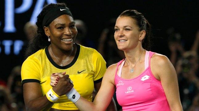 Võitja ja kaotaja: Serena Williams (vasakul) ja Agnieszka Radwanska.