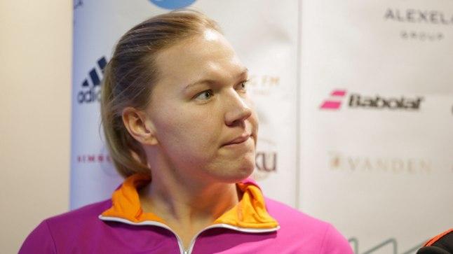 Kaia Kanepi järgmisel nädalal Iisraelis toimuval Fed Cupi turniiril Eestit esindada ei saa.