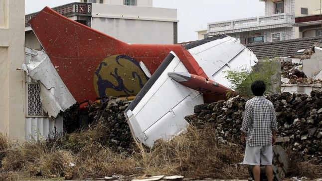 Lennuõnnetus Penghu saarel