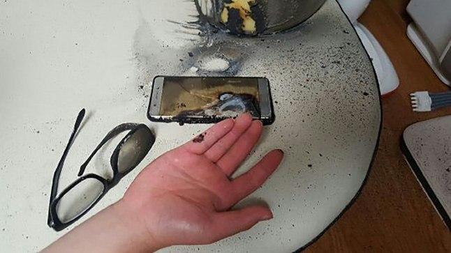 Samsung palus Galaxy Note7 omanikel seade välja lülitada!