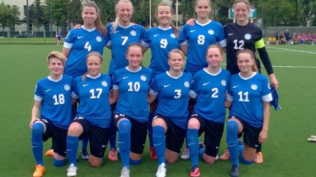Eesti U19 naiskoondis