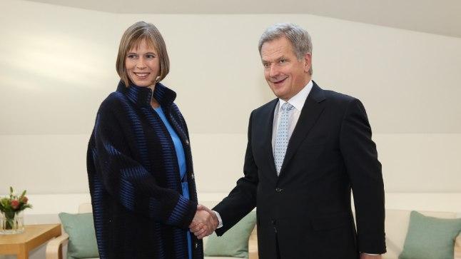 Eesti president Kersti Kaljulaid esimesel välisvisiidil: 20. oktoobril Soomes koos põhjanaabrite presidendi Sauli Niinistöga.