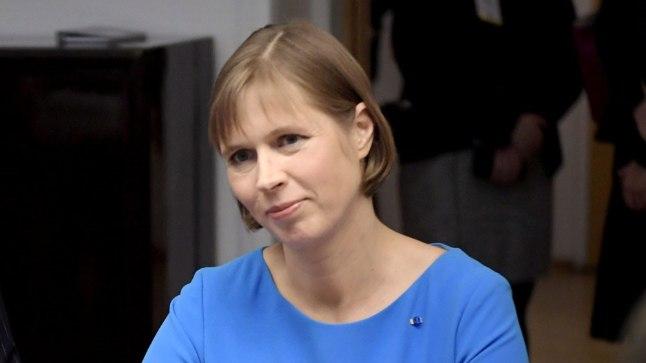President Kersti Kaljulaid Soome-visiidil 20. oktoobril 2016.