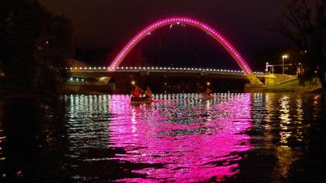 Tartus võib sel nädalal näha põnevaid ja müstilisi valgusinstallatsioone