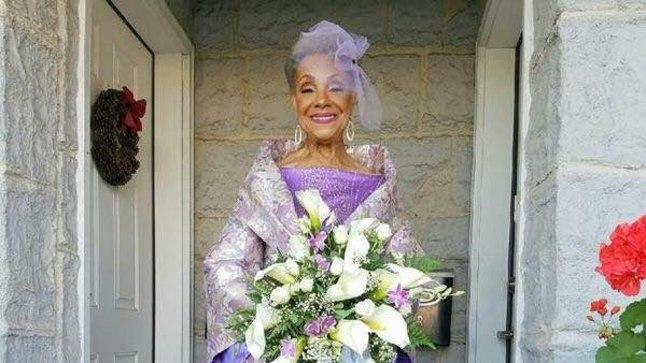<font color=&quot;#af3399&quot;>Abielu ei küsi vanust! Saage tuttavaks selle 86-aastase (jalustrabava) pruudiga!</font>