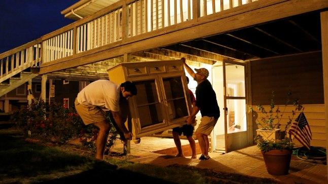 Lõuna-Carolina vamistub orkaani tulekuks