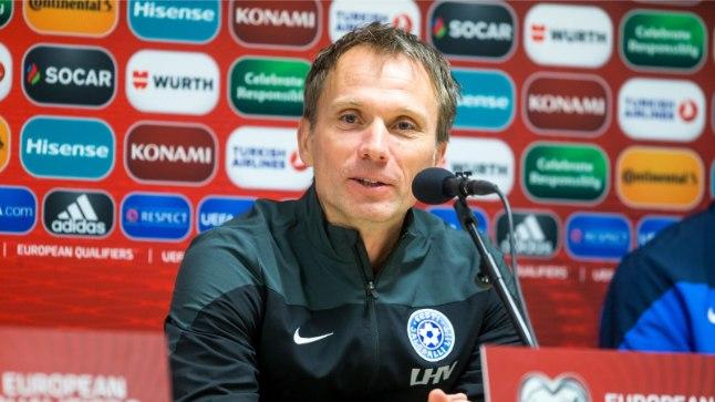 Eesti jalgpallikoondise peatreener Martin Reim.