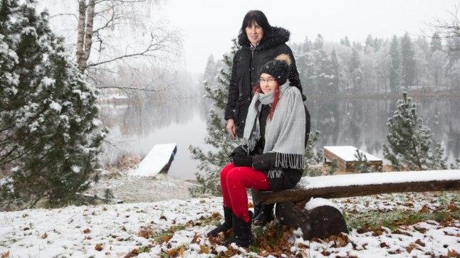 ÕNNELIKUD: Jana ja Maria on kahe raske aasta järel taas õnnelikud.