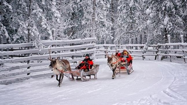 MEELI PUHKAMA: Kes tahab end argielust välja lülitada, siis Helsingist pea tuhande kilomeetri kaugusel asuv Lapimaa on selleks õige koht. Peale maagilise looduse nautimise saab seal põhjapõtradega sõita ja jõuluvanaparki külastada.