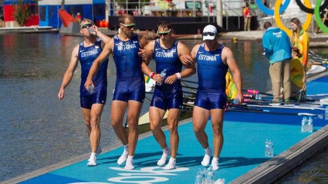 Eesti ainsad Rio olümpiamedalid riputati selle vapra neliku kaela.