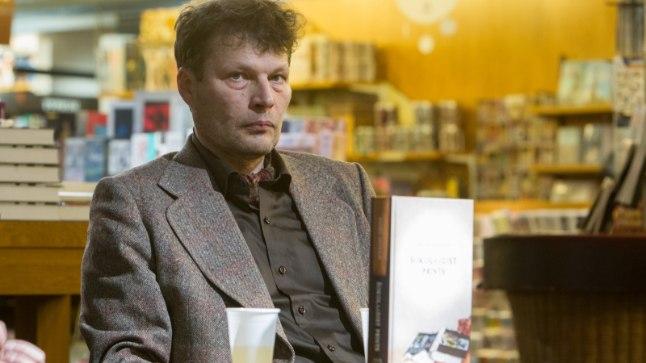 """Andrei Hvostovi raamatu """"Šokolaadist prints"""" esitlus Tallinnas Rahva raamatus 9. detsembril 2016."""