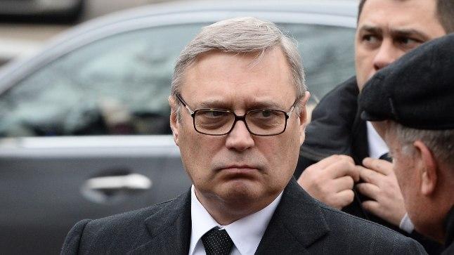 Mihhail Kasjanov Boris Nemtsovi matusel 3. märtsil 2015.