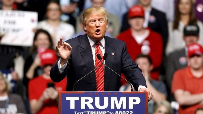 PRAEGUNE LIIDER: Seitsme vabariiklase seas juhib pärast kahes osariigis toimunud eelvalimisi miljardär Donald Trump.