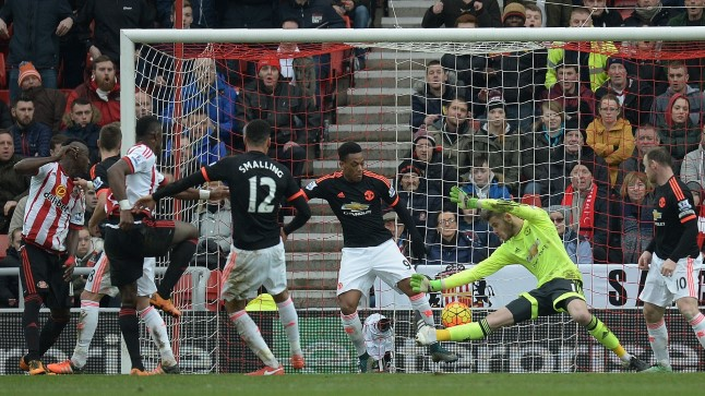 Sunderland alistas Manchester Unitedi
